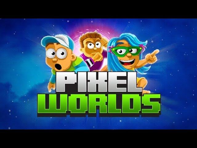 Pixel Worlds! - PvP, Pesca e Mundos Populares!!