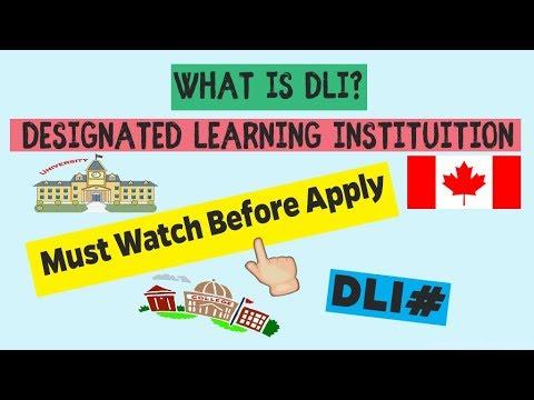 Download Designated Learning Institution Canada | DLI Colleges & Universities
