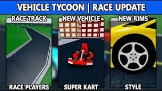 HOW TO WIN MONEY IN VEHICLE TYCOON EASY AND RAPID - Roblox