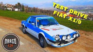Test drive fiat X1/9