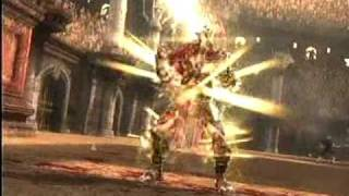 Mortal Kombat 9 Scorpion  vs Shao Kahn Final boss
