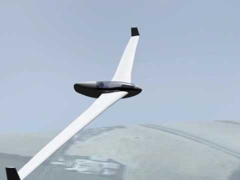 Flying Wing Sailplane