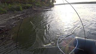 Рыбалка на паук подъёмник Судак ломает в лодке Кан Щуки рвут шнур 1я часть