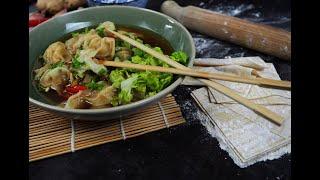 Co na obiad: Chińska zupa WONTON