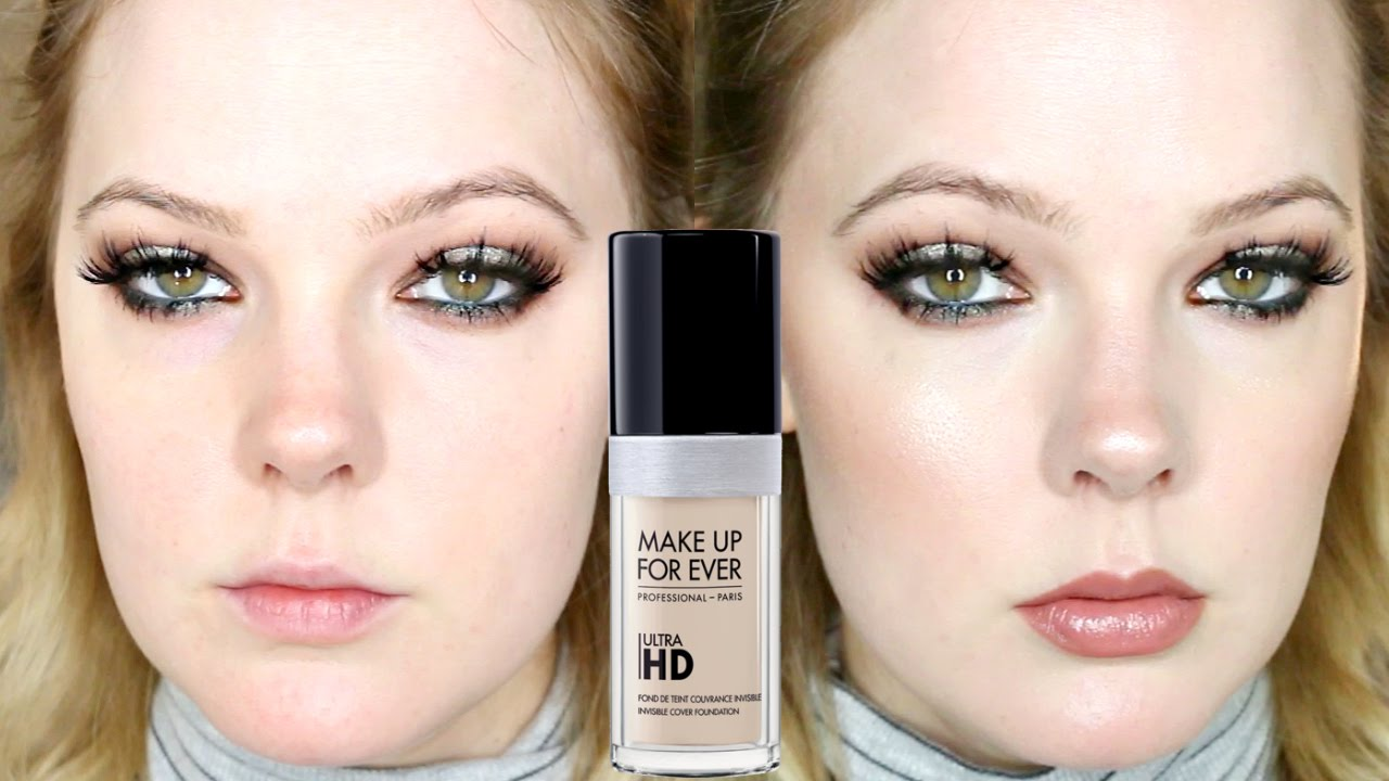 4270193fd2c9 MAKE UP FOR EVER ULTRA HD FOUNDATION | FIRST IMPRESSION - YouTube