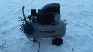 Как запустить воздушный компрессор в сильный мороз.(Как запустить воздушный компрессор в сильный мороз. Быстрый способ запуска воздушного компрессора в сильн..., 2016-01-24T16:58:06.000Z)