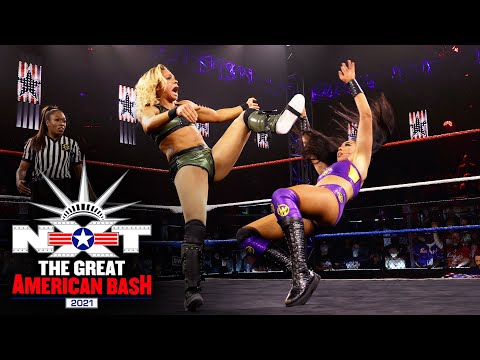 The Way vs. Shirai & Stark – NXT Women's Tag Team Title Match: NXT Great American Bash, July 6, 2021