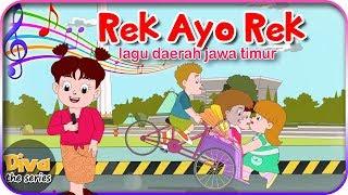 Gambar cover Rek Ayo Rek | Lagu Daerah Jawa Timur | Diva bernyanyi | Diva The Series Official