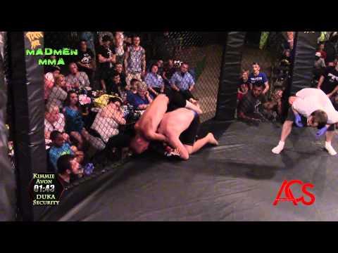 Madmen MMA Delson Petrie Memorial Event Dennis Strain vs Kyle Schroeder 145