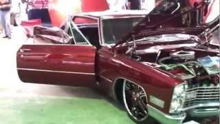 67 Cadillac Couple Deville slammed on 24s