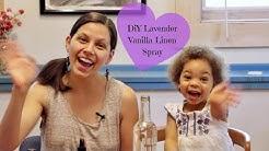 Lavender Vanilla Linen Spray | Anxiety-Reducing, Non-Toxic DIY Scent