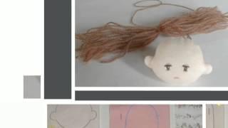 Как сделать мягкую игрушку  куклу из ткани своими руками.