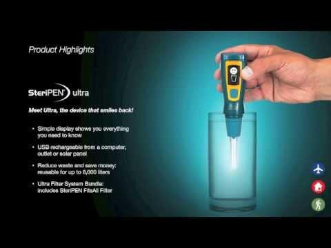 Steripen Ultra Clinic Video Youtube
