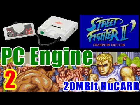 [2/3] STREET FIGHTER II DASH(PC-Engine)