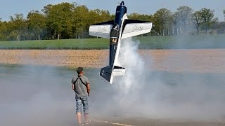 HUGE RC YAK-54 MODEL AIRPLANE 3D AEROBATICS FLIGHT DEMONSTRATION / Bölsdorf Germany 2016