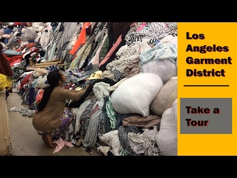 A TOUR of the DTLA GARMENT DISTRICT