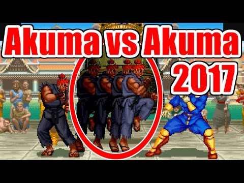 Akuma vs S-Akuma - SUPER STREET FIGHTER II Turbo(SS)