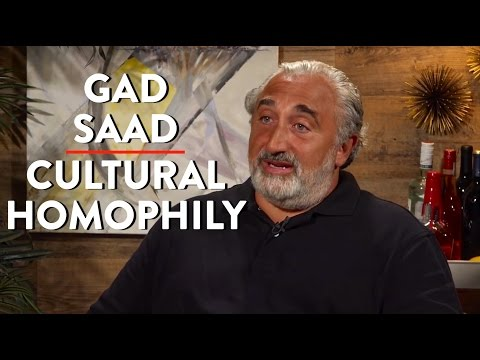 Gad Saad on Growing up in Lebanon, the Olympics, and Cultural Homophily