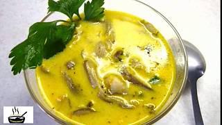 Как приготовить ГРИБНОЙ СУП! Готовим вкусный рецепт сырного супа с грибами//mushroom soup