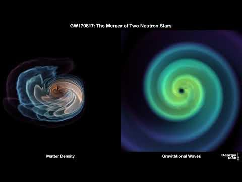 Mirá todo sobre la fusión de 2 estrellas de neutrones en el espacio