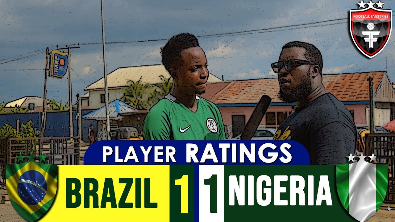 Player Ratings: Brazil vs Nigeria