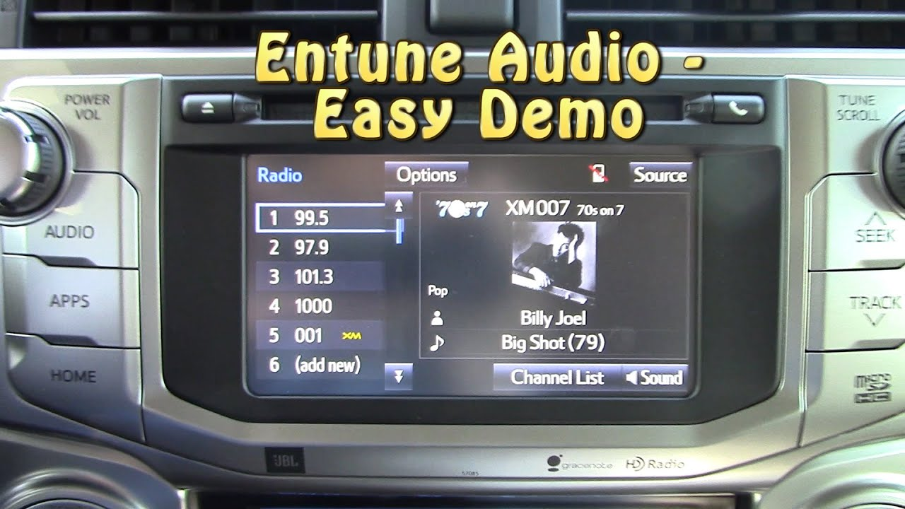 Toyota 2015 entune audio systems choose the right one youtube buycottarizona Gallery
