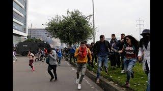 Ocho personas detenidas en Bogotá tras disturbios durante marchas estudiantiles | Noticias Caracol