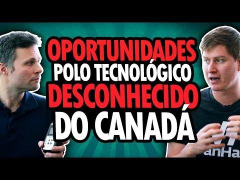 TRABALHE AGORA NO POLO DE TECNOLOGIA DESCONHECIDO DO CANADÁ