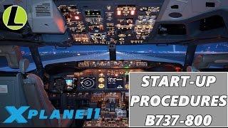 Procedure di Partenza B737-800 | TUTORIAL | X-PLANE 11 | Gameplay ita