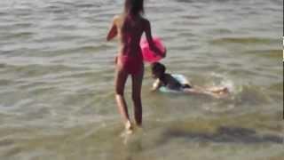 Шацкие озера, озеро Соменець, девочки купаются(Ukraine, озеро Соменець, Шацкие озера 2012., 2012-11-17T20:00:53.000Z)