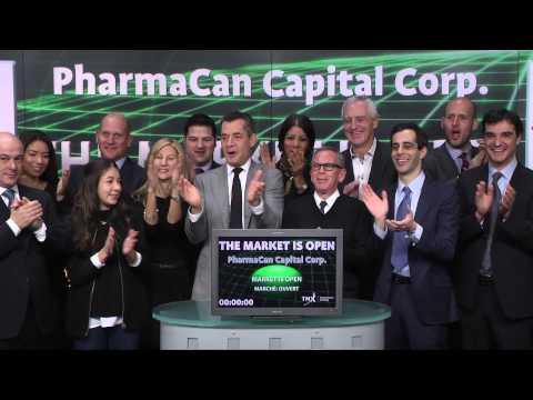 PharmaCan Capital Corp. (MJN:TSX-V) opens TSX Venture Exchange, January 13, 2015.