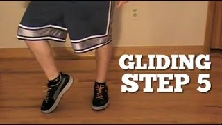How to GLIDE Tutorial | ~ MOONWALK Effect | Easy dance move!