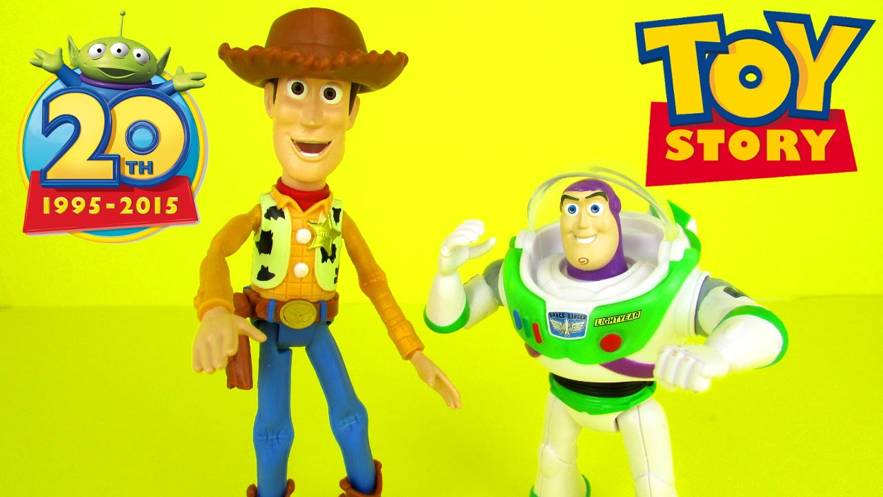 Disney Pixar Toy Story Figure 20th Anniversary Glow in The Dark Buzz Lightyear