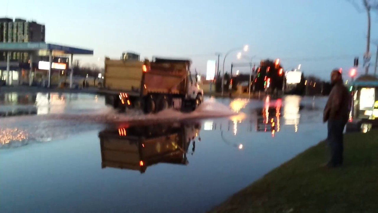 Flooding In Montreal West Island May