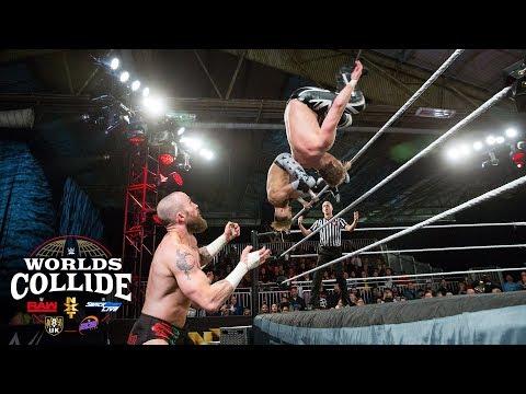 Flash Webster & Mark Andrews vs. Ariya Daivari & Mike Kanellis: WWE Worlds Collide, April 17, 2019