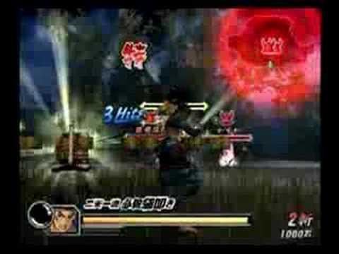 Basara 2 Miyamoto Musashi vs Date Masamune