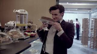 The Doctor being asexual for 5,5 minutes straight