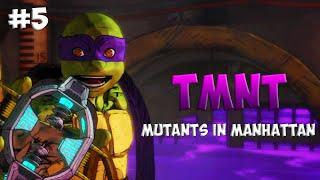 Черепашки-Ниндзя: Мутанты в Манхэттене. Прохождение #5 (TMNT: Mutants in Manhattan Gameplay 2016)