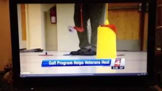 Veterans Learn to Golf.