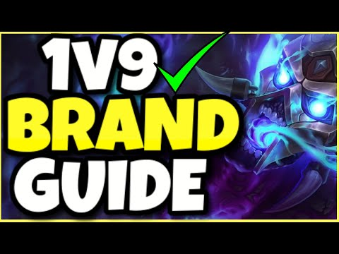 THIS IS HOW YOU LEGITIMATELY 1v9 AS BRAND SUPPORT (SEASON 11)! – League of Legends