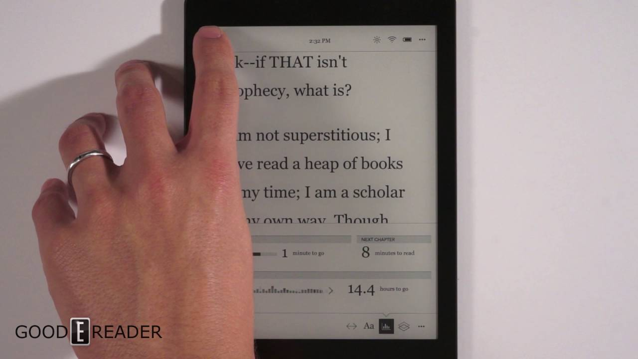 All-new Kobo Aura One: a 7 8 inch ereader with overdrive