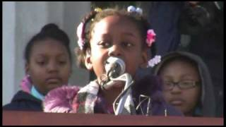 Students remember 'I have a dream' speech