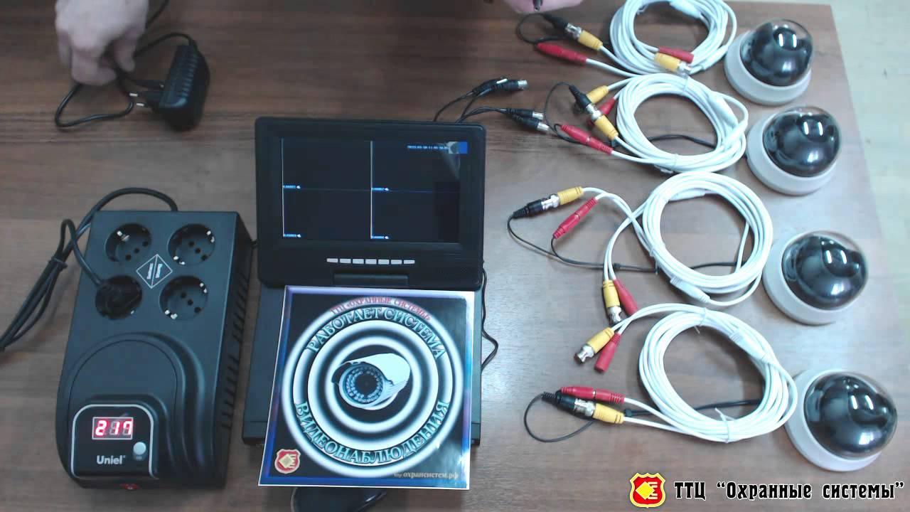 схема подключения камеры видеонаблюдения infinity