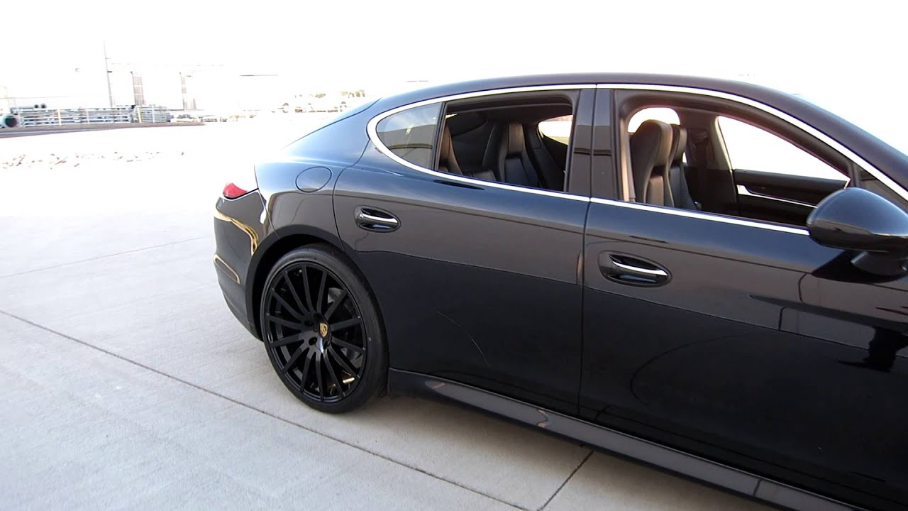 2010 Porsche Panamera S Custom 22inch Wheels LOADED Car for Sale