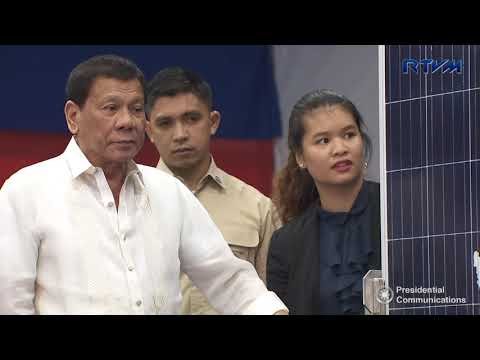 Inauguration of the Solar Philippines Factory 8/23/2017