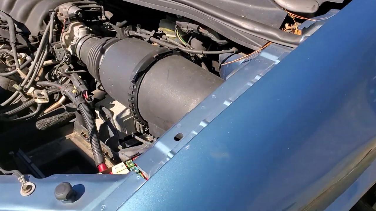 2002 Ford Windstar Fuel Pump Relay Fuel Pump Fuse Location