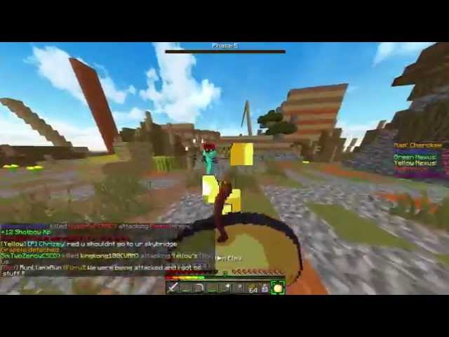 Minecraft Annihilation Gapple Rush #1