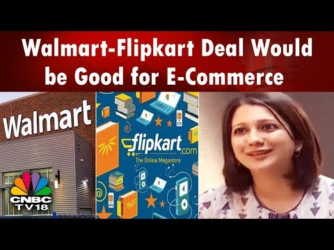 Amazon: Walmart-Flipkart Deal Would be Good for E-Commerce | India Business Hour