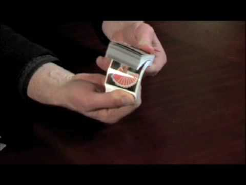 Show Biz Card Business Card Magic Trick Youtube