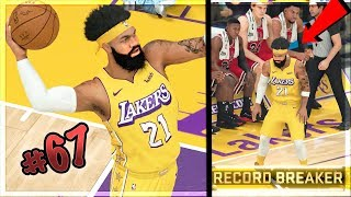 SCORING 200 POINTS ON HALL OF FAME!! (ALMOST)NEW NBA SCORING RECORD! NBA 2k20 MyCAREER Ep. 67
